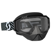 Очки SCOTT HUSTLE SNOW CROSS, black clear