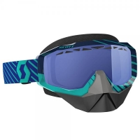 Очки SCOTT HUSTLE SNOW CROSS, blue/teal sky blue