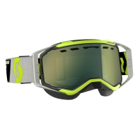 Очки SCOTT Prospect Snow Cross, black/grey enhancer yellow chrome