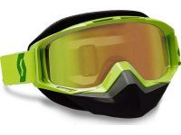 Очки SCOTT TYRANT SNOW CROSS, green silver chrome